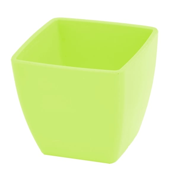Shop Dormitory Plastic Square Craft Desktop Decor Flower Vase Plant