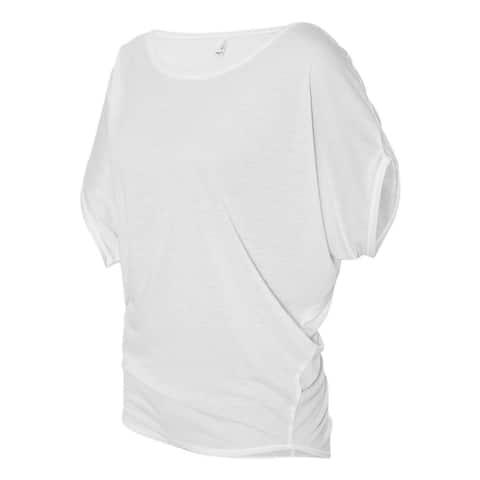 Bella - Ladies Flowy Rage Sleeve Dolman T-shirt