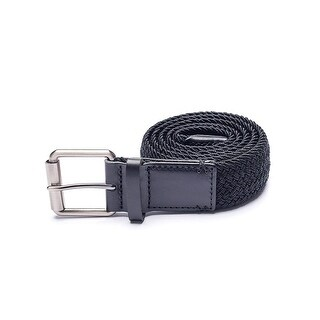 Arcade Hudson Smartweave Belt: Braid Webbing and Top-Grain Leather Trims