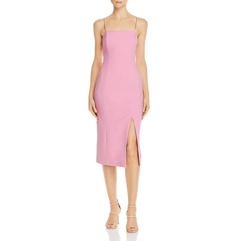 Finders Keepers Womens Sheath Dress Cut Out Sleeveless - Lilac