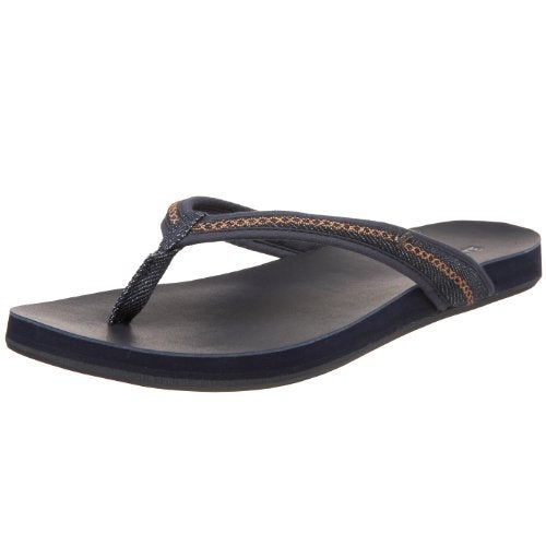 Lacoste Women's Omaria D Women's Sandal,Blue Denim,10 M US