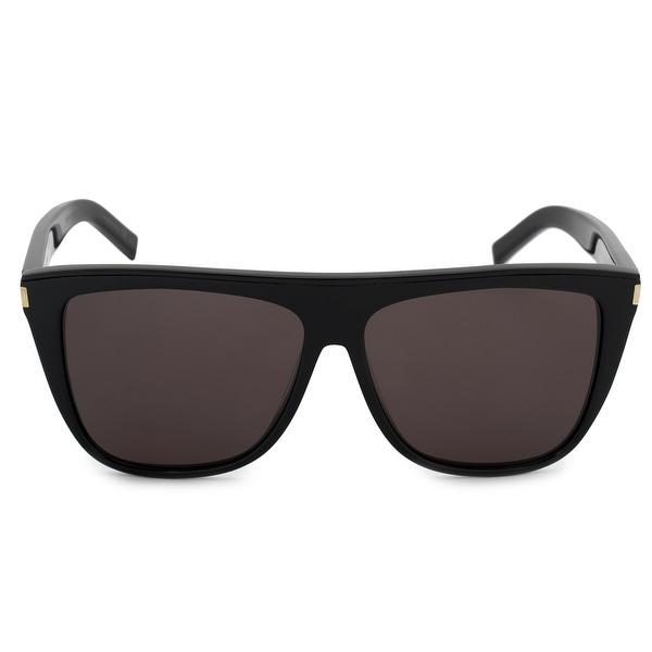 4c9d40720286 Shop Saint Laurent Oversized Sunglasses SL1 002 59 - Free Shipping ...