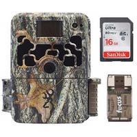 Browning Dark Ops Extreme 16MP Game Camera with 16GB Card and Reader - Camouflage