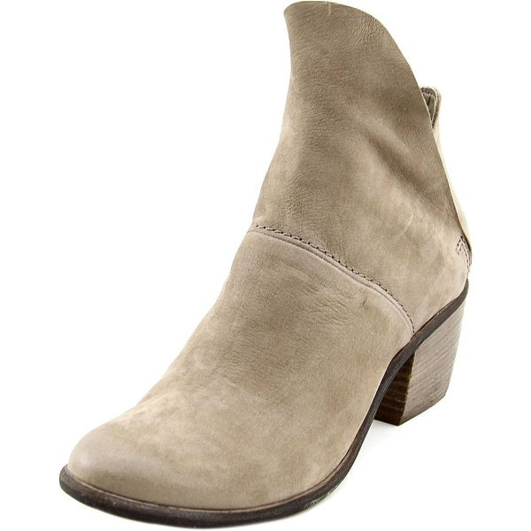 Dolce Vita Salena Women Round Toe Leather Bootie