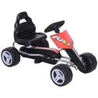 Aosom Kids Go Kart, 4 Wheeled Ride On Pedal Car Deals