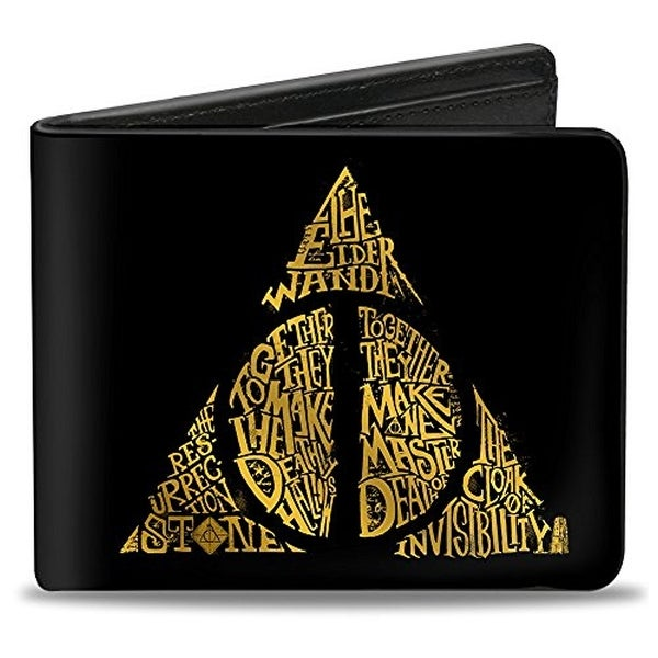 Buckle-Down Bifold Wallet Harry Potter