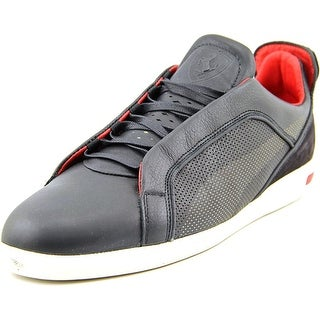 Puma Ultimate SF-10 Men Round Toe Leather Black Sneakers