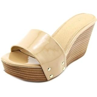Splendid Greenville Open Toe Synthetic Wedge Sandal