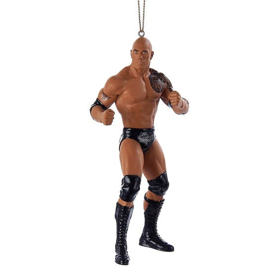 WWE The Rock Christmas Ornament