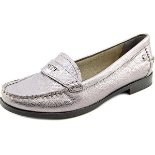 Hush Puppies Iris Sloan Round Toe Leather Loafer