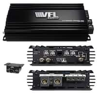 Vfl Audio Hybrid Amplifier Linkable D Class 2800 Watts Max
