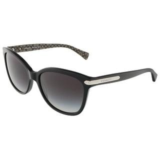 Coach HC8132 526111 Black Military Sig C Wayfarer sunglasses