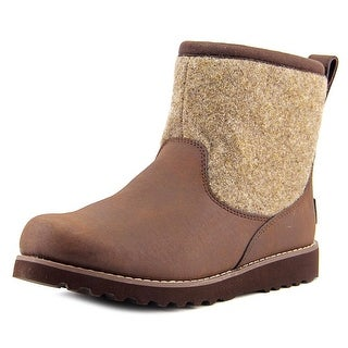 Ugg Australia Bayson Youth Round Toe Leather Brown Boot