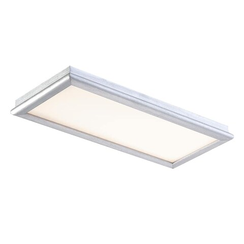 "Modern Forms WS-3712 Neo 12"" Width LED Dimming Flush Mount Ceiling Bathroom Light"