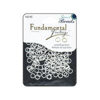 Sweet Beads Fund Find JRing Rnd 6mm 142pc Silver