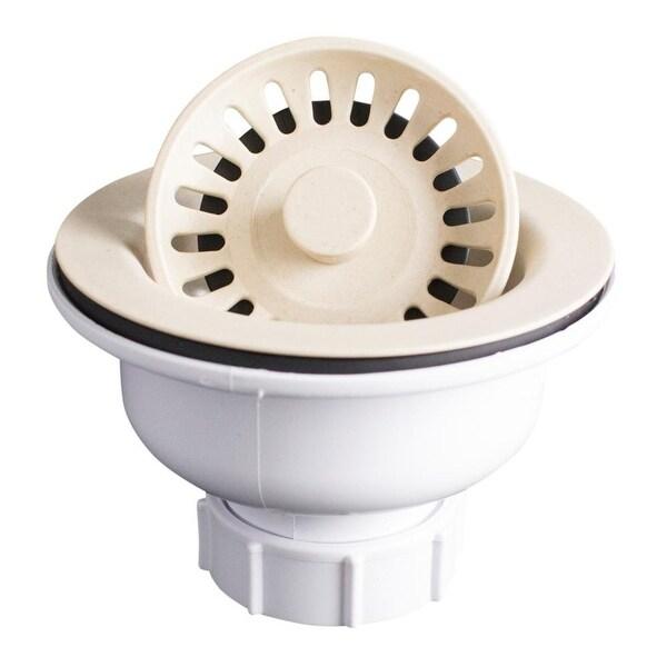 Karran Kitchen Sink Basket Strainer in Black. Opens flyout.