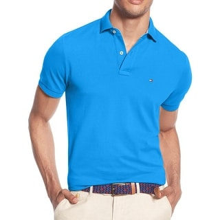 Tommy Hilfiger Mens Polo Shirt Cotton Pique