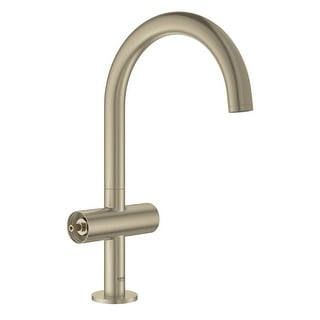 Grohe 21 027 3  Atrio 1.2 GPM Single Hole L-Size Bathroom Faucet with Pop-Up Drain Assembly