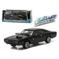 Dom\'s 1970 Dodge Charger R/T Fast and Furious-Fast Five Movie (2011) 1/43 Diecast Model Car by Greenlight