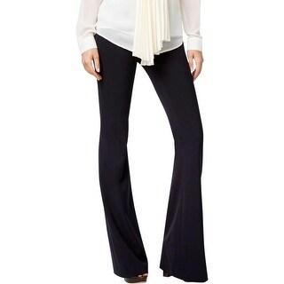 MICHAEL Michael Kors Womens Trouser Pants Slim Fit Flare Leg