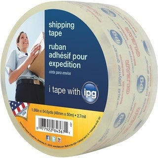 "Intertape Polymer Group 1.87""X55yd Clear Tape 4367 Unit: EACH"