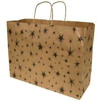Black Star Gift Bag - Extra Large