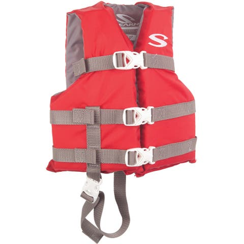 Stearns classic series child red life vest 3000004470