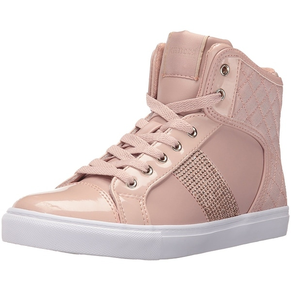 GUESS Womens Jaela Low Top Lace Up Fashion Sneakers