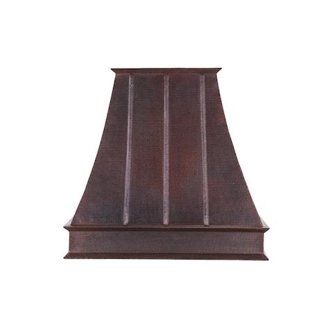 """Premier Copper Products HV-EURO38-C2036BP1-TW-B 1065 CFM 38"""" Wide - Oil Rubbed Bronze"""