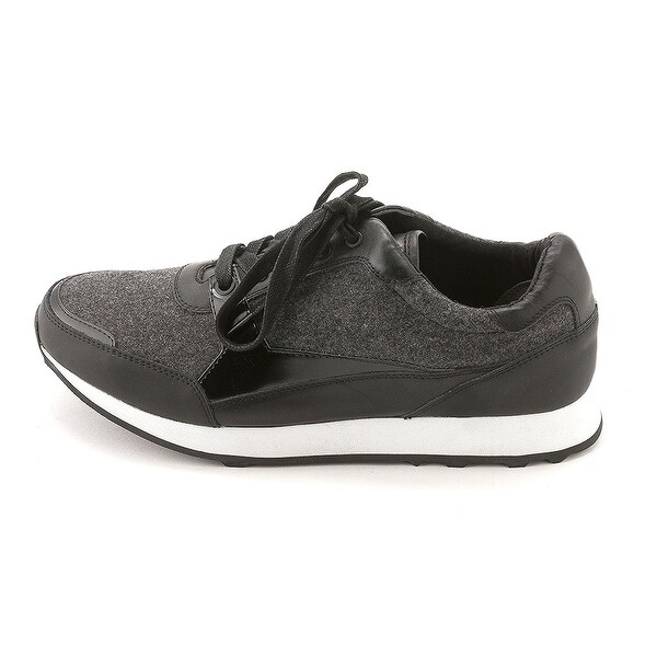 Kenneth Cole New York Womens Dewey Canvas Low Top Lace Up Fashion Sneakers