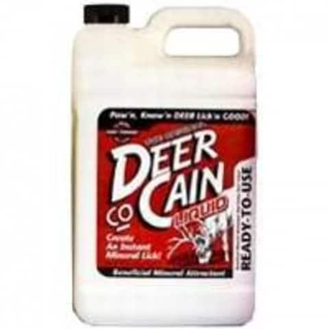 Evolved Habitats 11394 Deer Co-Cain Liquid Deer Attractant, 1 Gallon