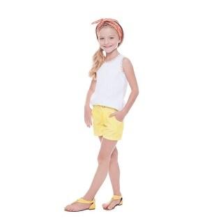 Pulla Bulla Girls' Solid Shorts