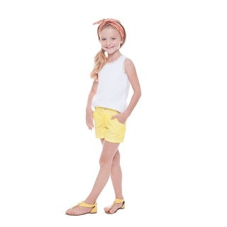 Pulla Bulla Toddler Girls' Solid Shorts (3 options available)