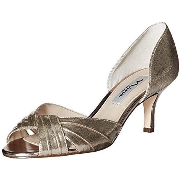 Nina Womens Cadine Pumps Leather Evening