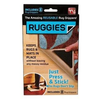 Ruggies RU011132 Reusable Rug Grippers
