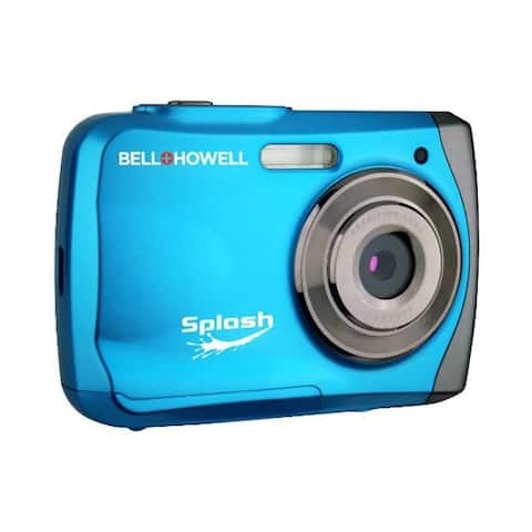 Bell & Howell ELBWP7BLB 12.0 Megapixel Wp7 Splash Waterproof Digital Camera - Multicolor