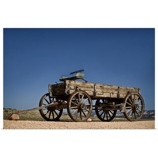 """Antique wagon"" Poster Print"