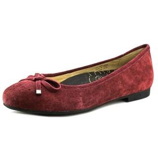 Propet Emma Women 2A Round Toe Leather Purple Flats