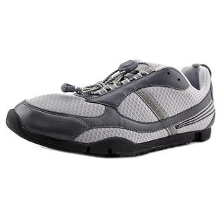 Dr. Comfort Gary Men W Round Toe Synthetic Gray Walking Shoe