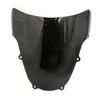 Unique BargainsBlack ABS Plastic Motorcycle Windshield For 01 02 GSXR1000 01 03 GSXR600 750