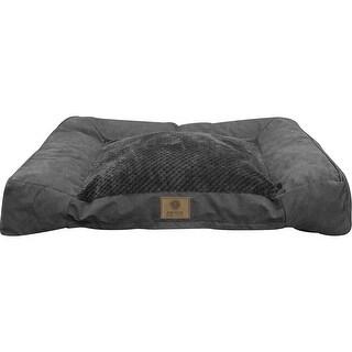 American Kennel Club Memory Foam Sofa Bed-Gray