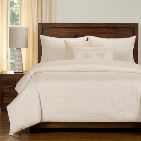 Adam Luxury Jacquard Duvet Cover and Insert Set