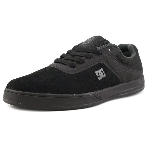 DC Shoes Mike Mo Capaldi S Men Round Toe Leather Black Sneakers
