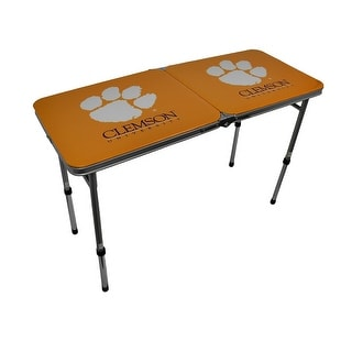 Clemson University Tigers Folding Aluminum Tailgate Table