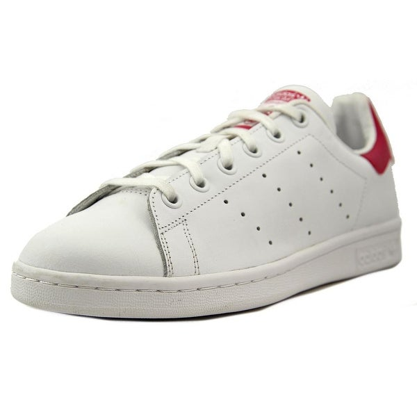 Adidas Stan Smith Youth Round Toe Leather White Sneakers