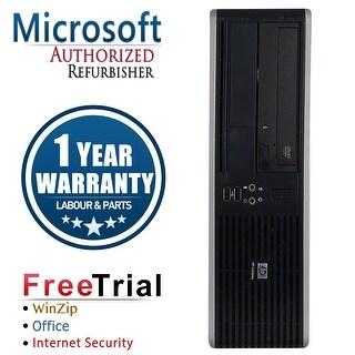 Refurbished HP Compaq DC5850 Small Form Factor AMD Athlon 64 x2 5400B 2.8G 4G DDR2 1TB DVD WIN7 Home Premium64 1 Year Warranty