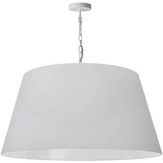 Link to 1LT Brynn X-Large Pendant, WHT Shade, White Similar Items in Pendant Lights