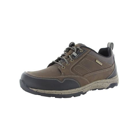 Dunham Mens Trukka Mudguard Waterproof Oxford Shoes