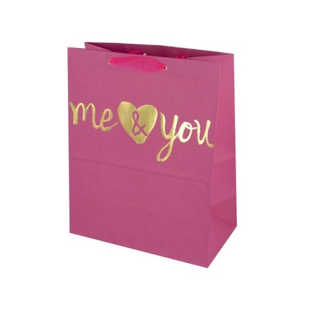Shop Me   You  Medium Gift Bag - Pack of 36 - Free Shipping Today -  Overstock.com - 20373292 a564619b66b1
