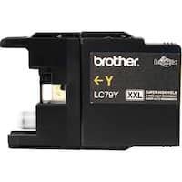 Brother LC79Y Brother Innobella LC79Y High Yield Ink Cartridge - Yellow - Inkjet - 1200 Page - 1 Each